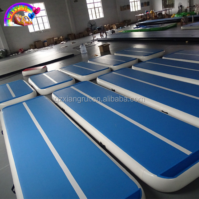 8m*2m*20cm Inflatable Gym Airtrack Double Wall Fabric Material