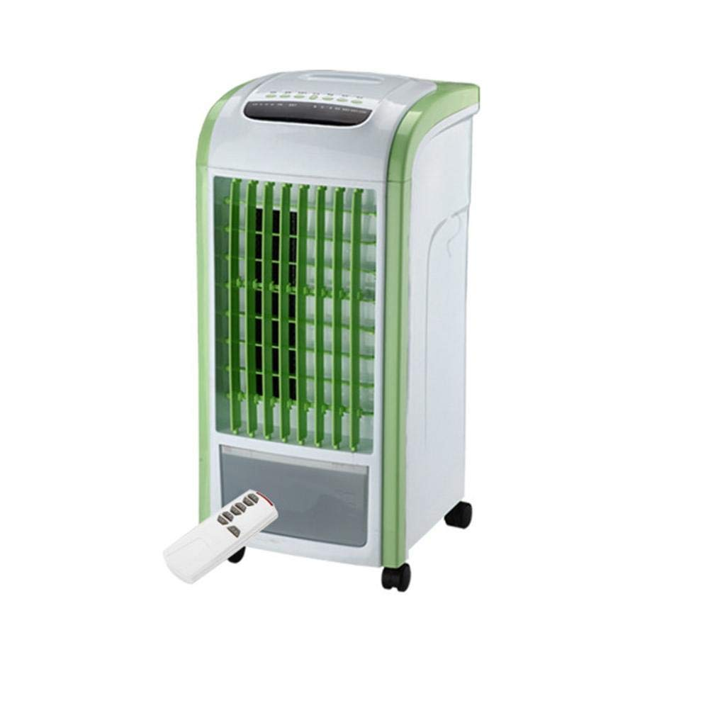Ikevan Air Cooler Remote Control Fan Humidifier and Air Freshener (Green)