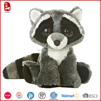 2015 Cute Stuffed Animal Little Raccoon Plush Toy For Kids China