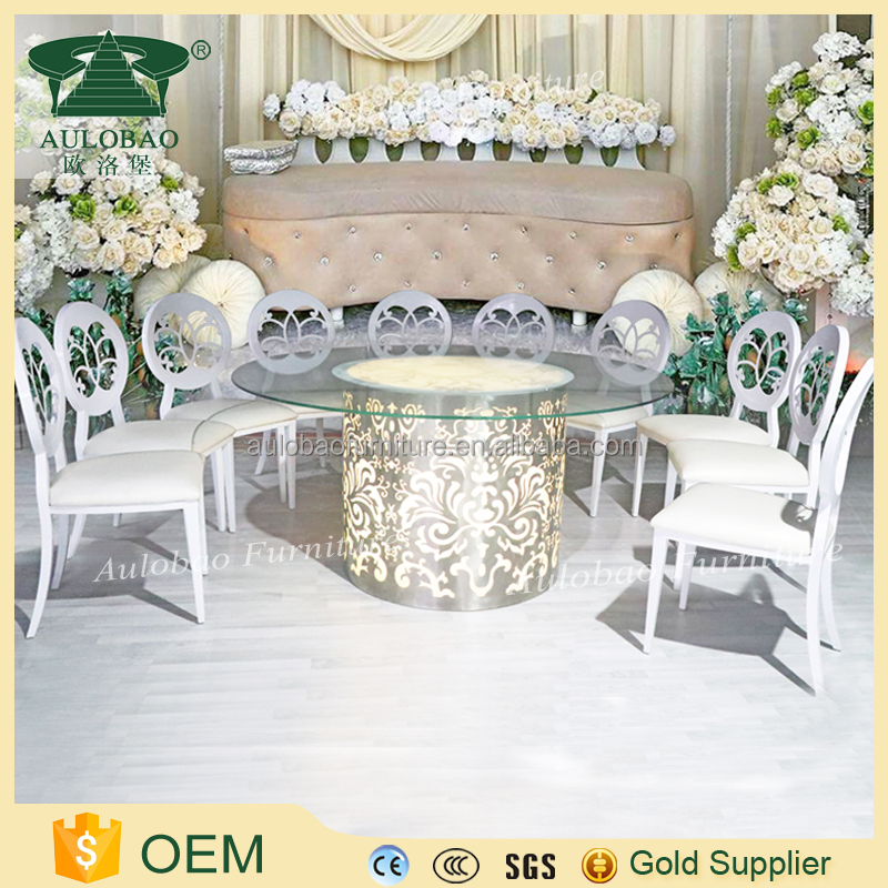 Wedding Event led light event furniture wedding table