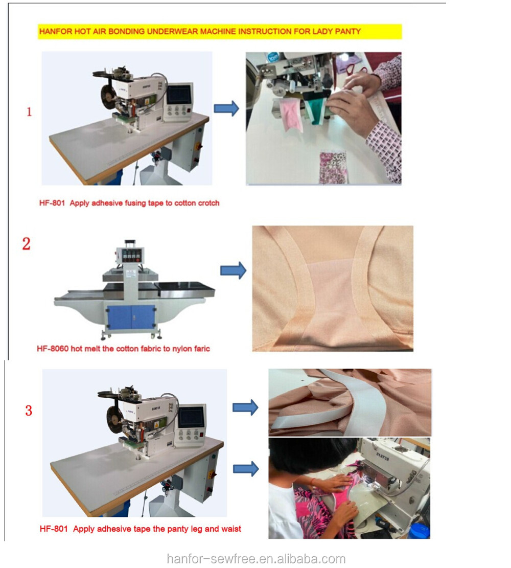 Alibaba China Supplier Seamless Fusing Glue Film Tape And Trimming ...