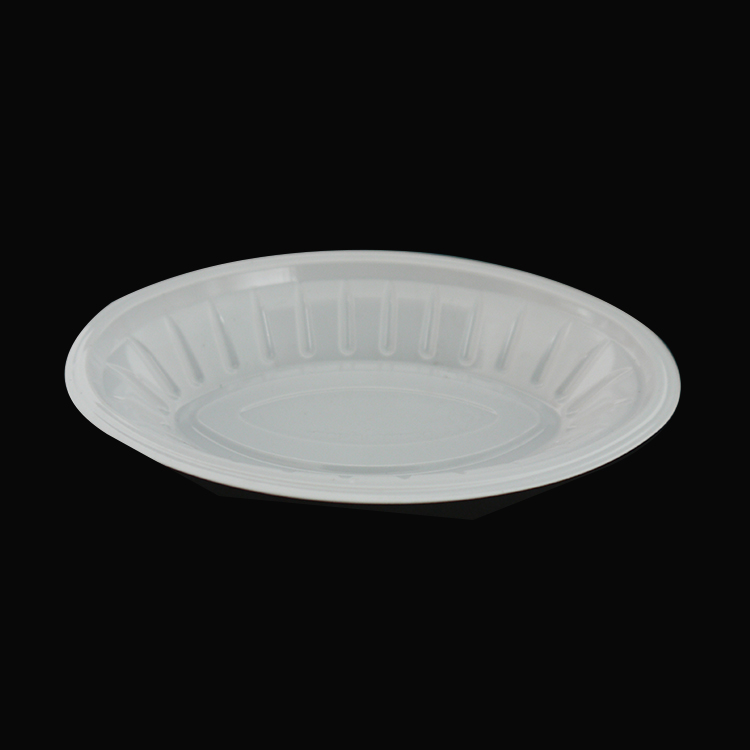 Disposable Non Toxic Small White Plastic Plates Product On