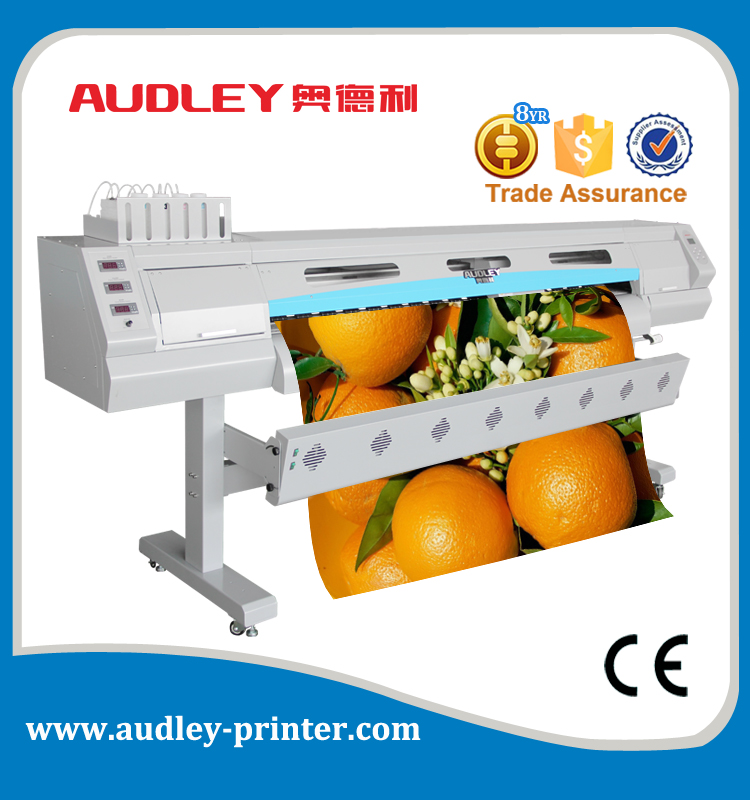 Automatic feeding system for roll materials width <strong>max</strong> 1.8m. ,most economical inkjet printer ADL-8520