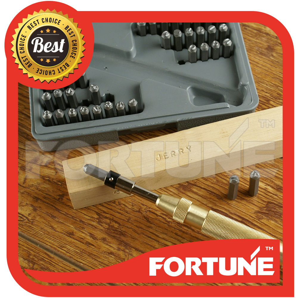 Letter & Number Automatic Punch Set in Punch Tool