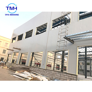 Metal construction industrial shed prefabricated steel structure building