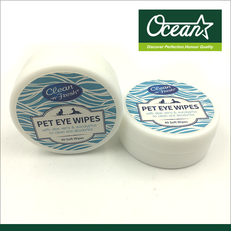 Mini pack Pet wipes for eyes/ ears
