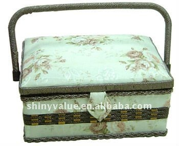 Customized color & design sewing basket Household Sewing Tools