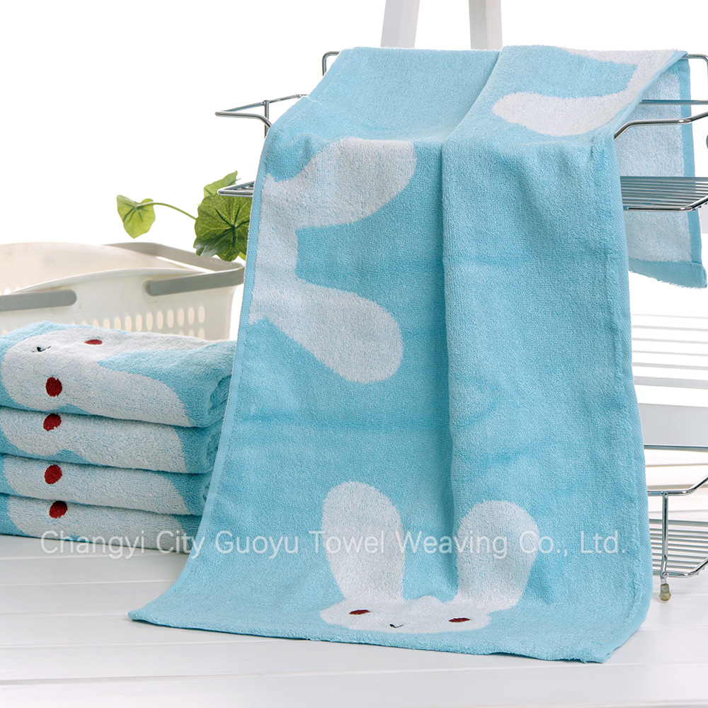 Fashion factory direct supply customized baby favors cute hand terry towels