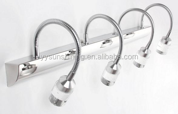 Einfach Montieren Led Flexible Schwanenhals Badezimmerspiegel Licht