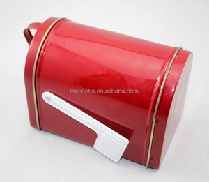 high quality tin mail box, Christmas gift tin box, candy tin box facotry