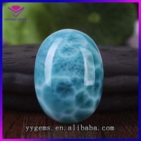 Larimar beads wholesale larimar oval cabochon