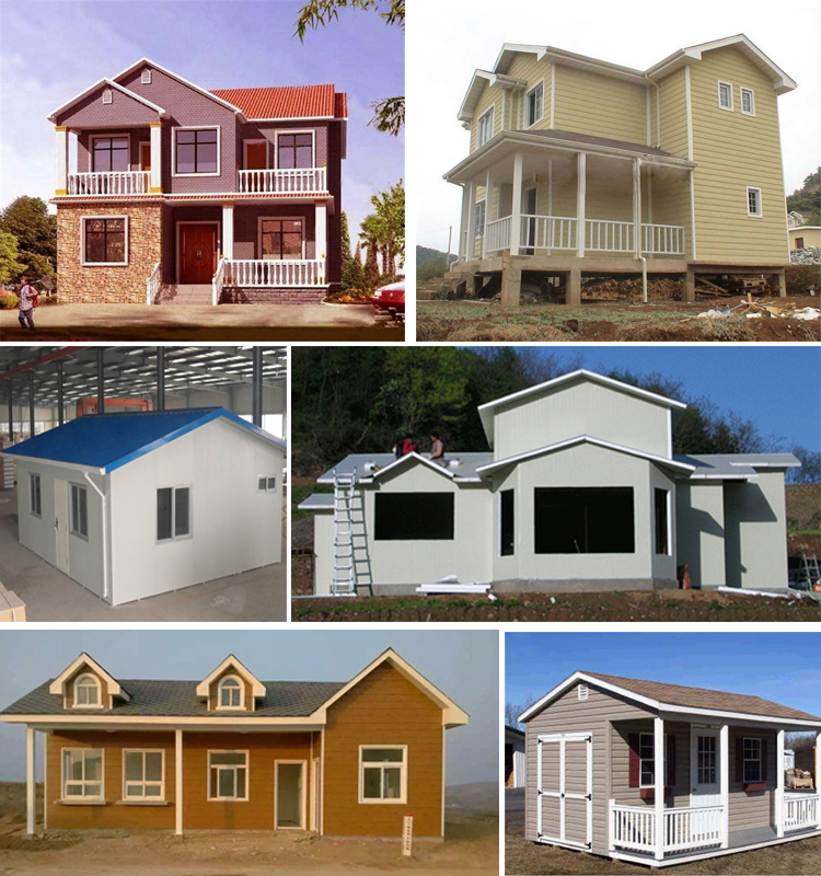 Africa Cheap Steel Structure Factory Workshop Prefab House