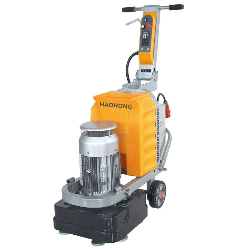 12 heads granite grinding and polishing bricklaying floor cement ground machine