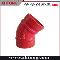45 degree elbow ce ccc ul fm good quality various sizes colors 1/2''-48'' as per your request OEM