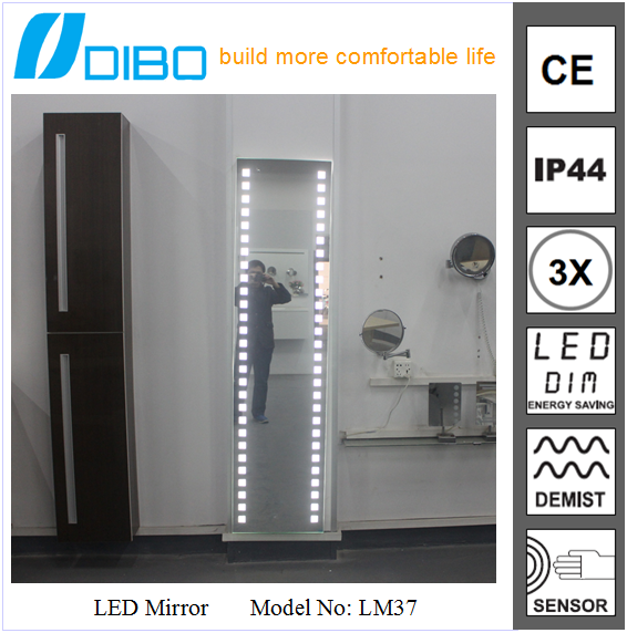 Whole Full Length Mirror With Led Light Illuminated