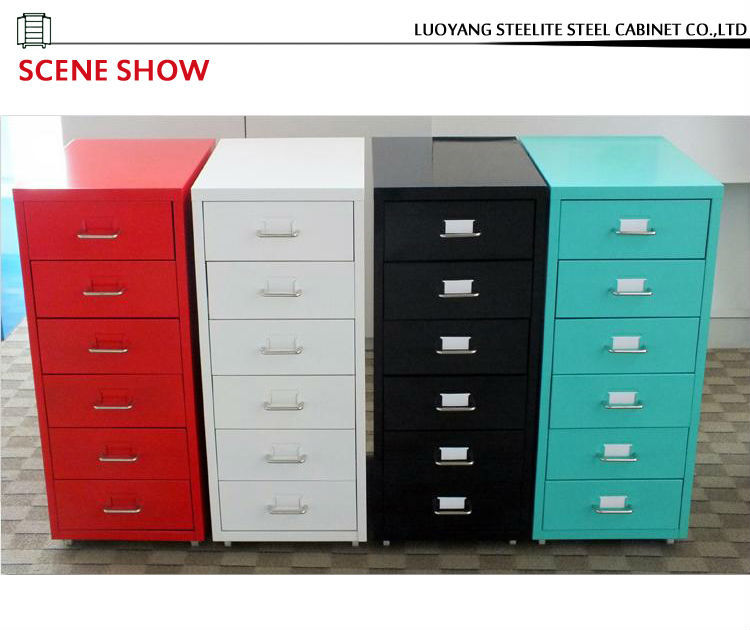 Childrens Animals Storage Box Chest 3 Kids Drawer Bedroom: Helmer Cabinets/2013 Hot Sale Office Mobile Metal 6