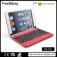 Fashionable high quality bluetooth 3.0 aluminum keyboard for ipad