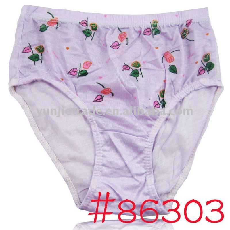 Usd 0.11 Ladies Cheap Underwear,Plus Size Women's Panty - Buy ...