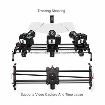 Camera Slider Motorized Dslr Dolly Video Track With Time