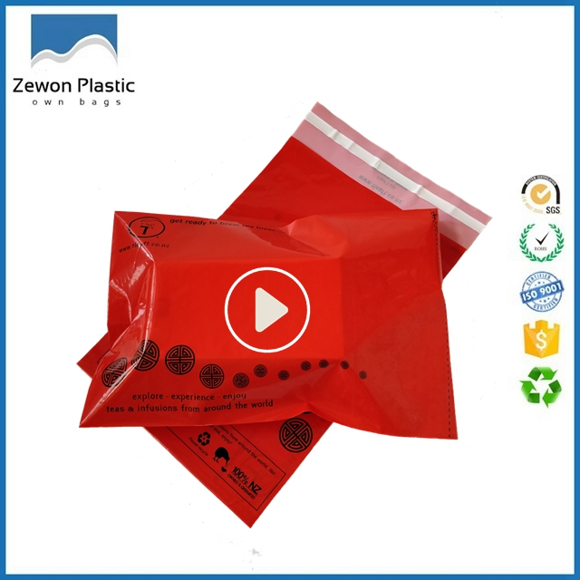 Custom Logo Printed Famous Express waterproof Shipping Envelope / Poly Mailer / Plastic Courier Mailing Bag