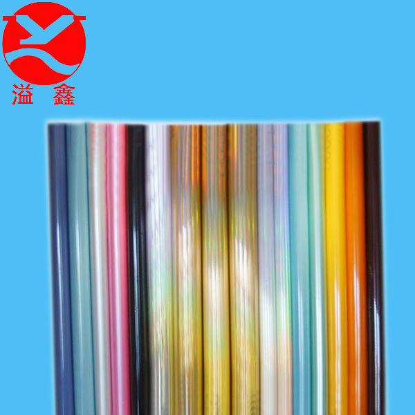 Transparent micron pvc thin static film for metal wrapping
