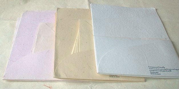 Handmade Paper Letter Writing Sets