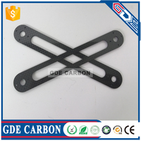 CNC cut carbon fiber helicopter spare parts for Sport RC Helicopter Spare parts