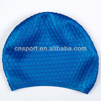 YSC-106 Silicone water droplets swim cap