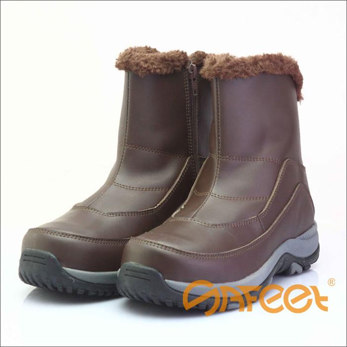 5cb8bd0f385 Resistente al frío acero puntera botas de invierno, zapatos de invierno,  mens botas de