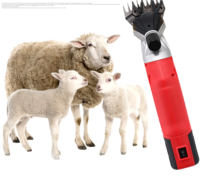 Gunting Rambut Domba 110V/220V, Gunting Cukur Hewan, Mesin Peternakan Kambing