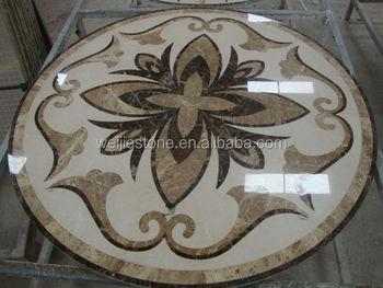 Marble Floor Pattern water jet marble classic pattern,modern marble flooring designs