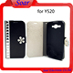 Aristocratic stylish cell phone case leather flip cover for Huawei Y520