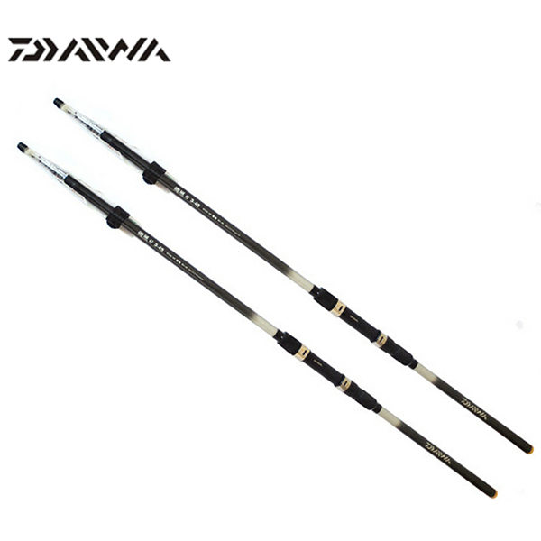 free ems daiwa brand 7 2m telescopic carbon fishing rod. Black Bedroom Furniture Sets. Home Design Ideas