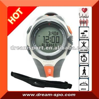 Dhp-701 Wireless Blood Pressure Heart Rate Monitor Watch With ...