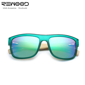 New fashion FDA and CE sports style pc frame wooden sunglasses 2018 sunglasses