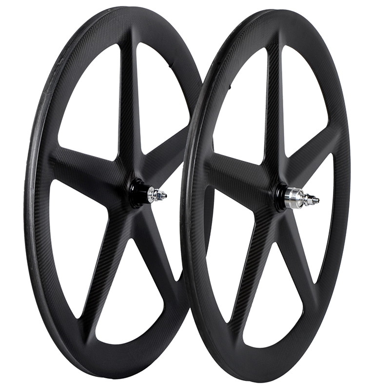 2016 XBIKE warranty time 24 months high stiffiness 700c five spoke carbon wheel