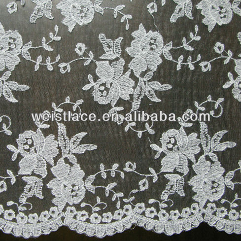 Embroidery Tulle Lace 140cm Wide