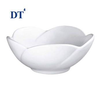 Lavabo Basins Ceramic Fancy Lotus Flower Shape Face Wash Basin For