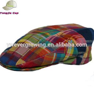 642935068b401 Plaid Cotton Ivy Cap Wholesale