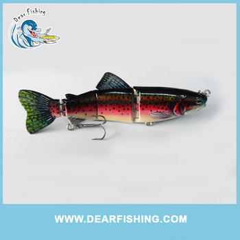jointed fishing lure making supplies fishing lure plastic trout, Soft Baits