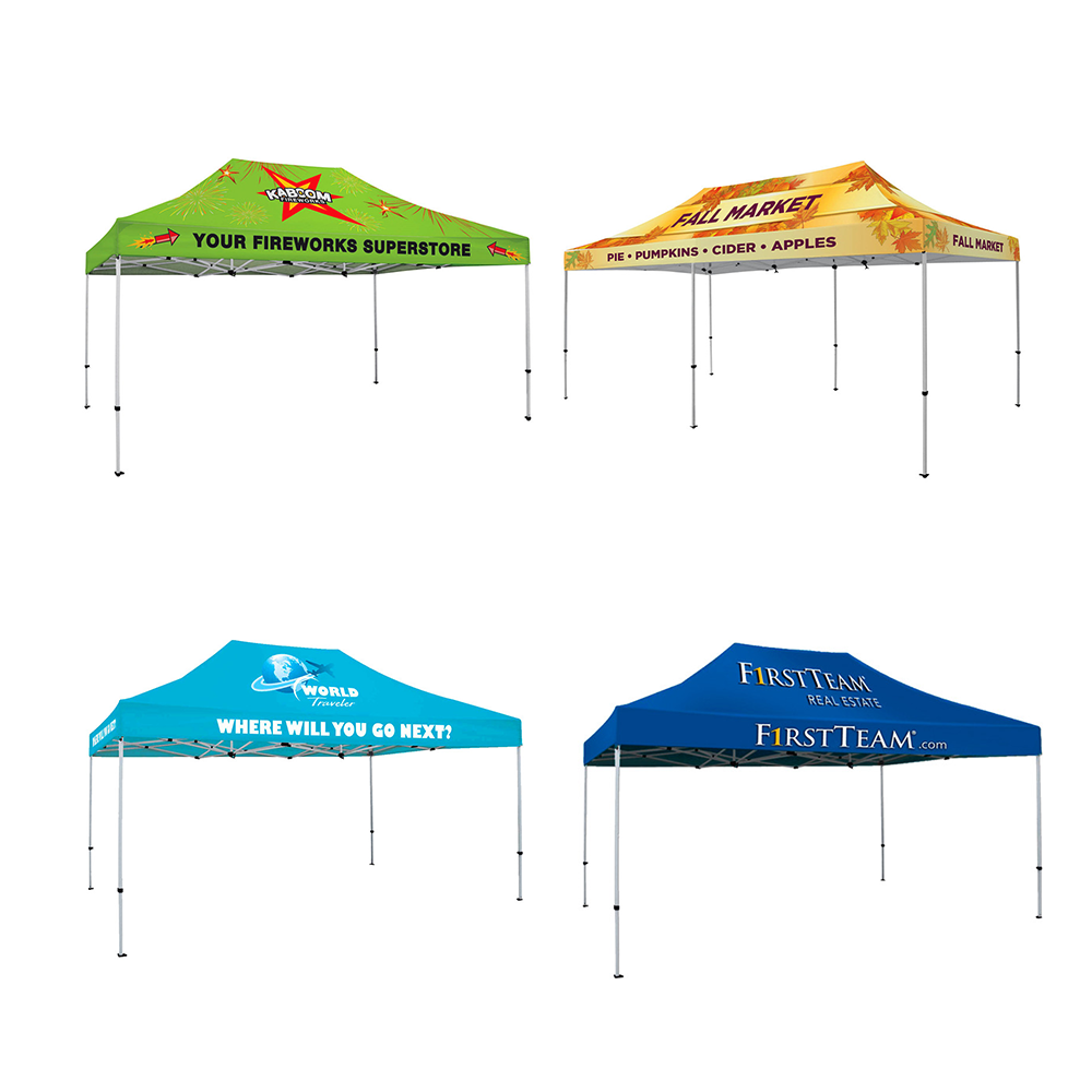cheap custom printed outdoor event folding portable 10x20 10x10 canopy tent
