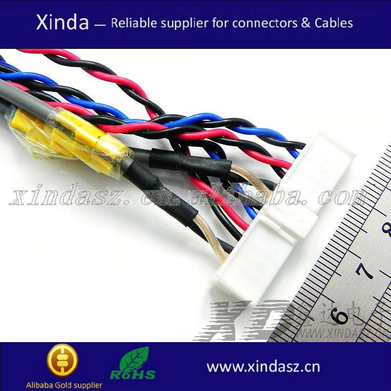 Finden Sie Hohe Qualität 35 Pin 0,5mm Lvds Ffc Kabel Hersteller und ...