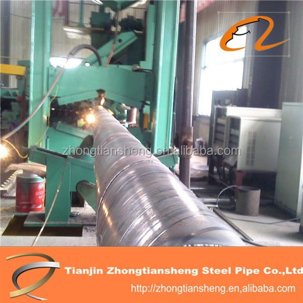 High preesure API black steel pipe / LSAW pipe carbon Steel