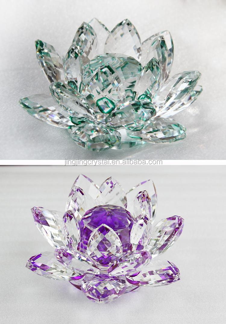 Blue crystal flowers crystal lotus flower in chinese style buy blue crystal flowers crystal lotus flower in chinese style izmirmasajfo