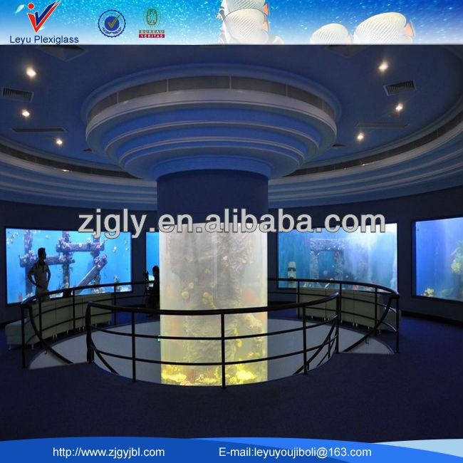 Cylindrical Acrylic Aquariums/fish Tanks