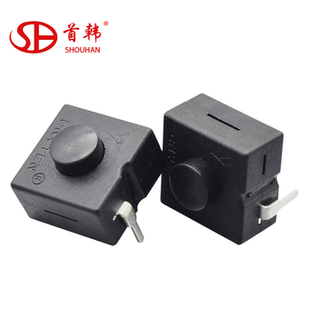 On-off Flashlight Switch Yt-8008-112a Plastic Electric Torch Push Shift  Button Switch - Buy Torch Switch,Push Button Micro Switch,Emergency Push
