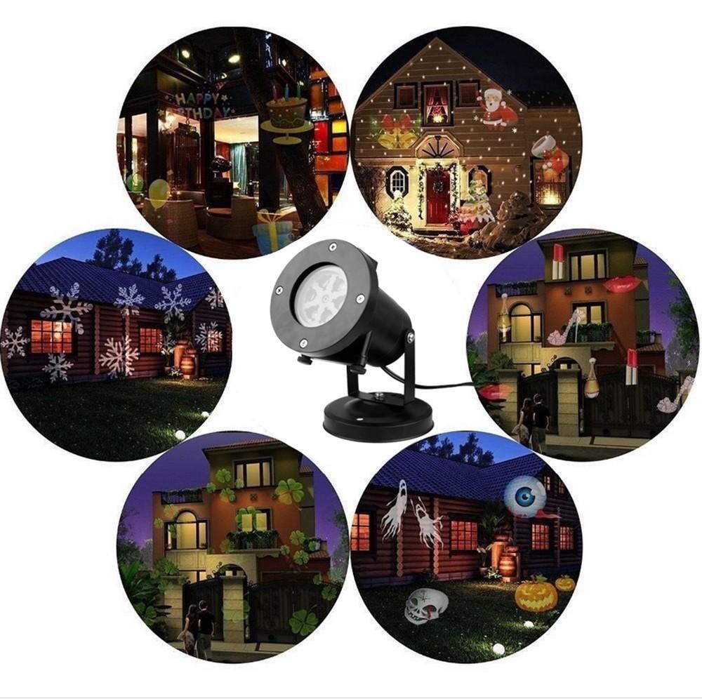 Wholesale festival led decoration christmas decorative lighting xmas projector lights holiday light