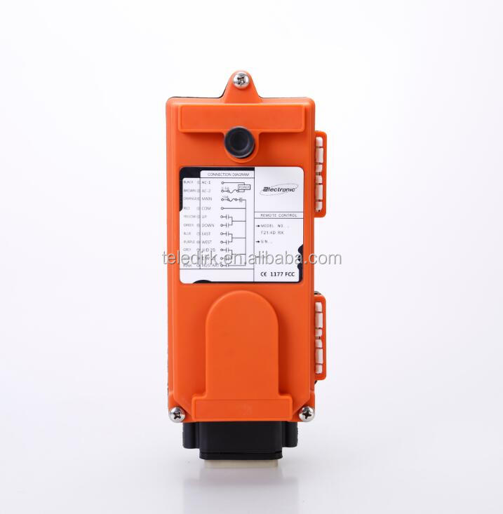 Aviation plug 12V Industrial Wireless Remote Control for hoists F21-4DQ