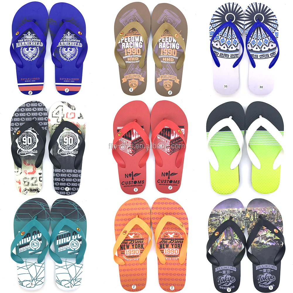 2d0ac822edd0 EVERTOP 2019 New Design Sandal Custom Print man Slipper Shoes For Wholesale  Sandal Flip Flop