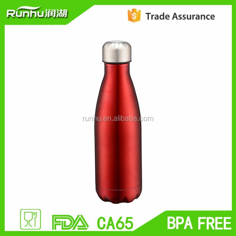 samll capacity most popular double wall stainless steel sports bottle RH503-750